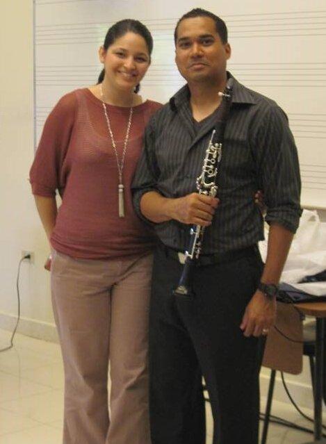 Noel Marcano and Melisa Trinidad-Laboy