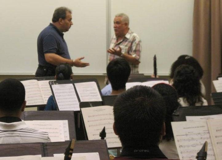 Rafael Enrique Irizarry with Paquito D'Rivera