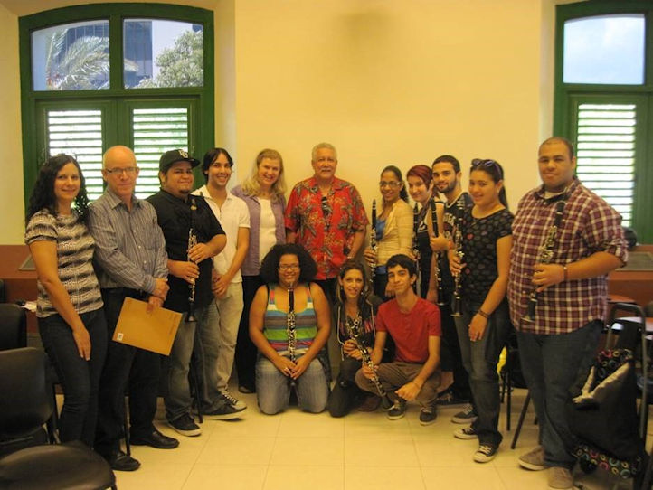 visit from Paquito D'Rivera