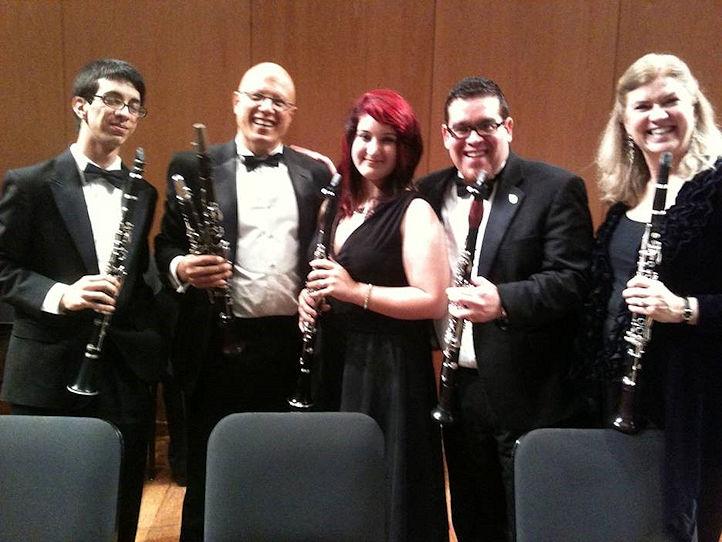 Juan Soto, George Morales, Janice Rivera, Emmanuel (Pochi) Diaz, and me