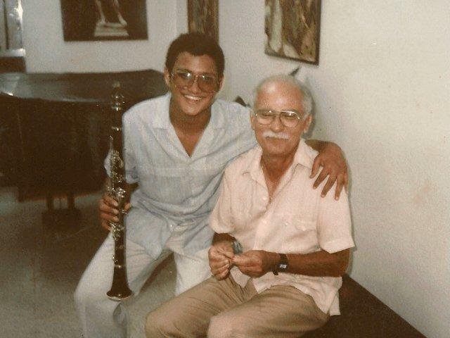 Ricardo Morales and Leslie López