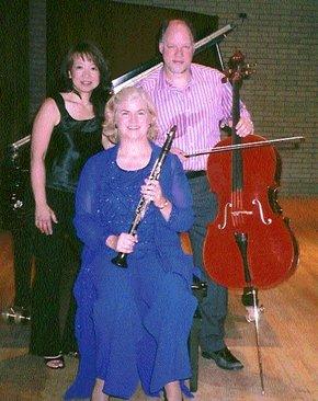 Kathy, Patria Hoy and Eric Wilson