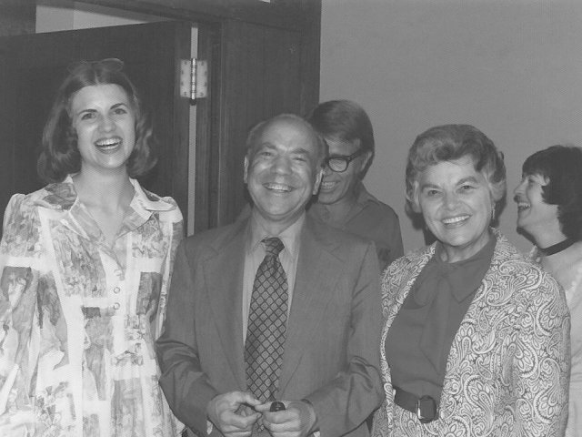 Kathy With Paul Creston his wife Louisse and Prof. Wendall Holstrom