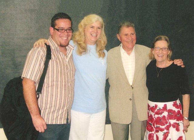Emmanuel Diaz, Kathy, Stanley Drucker and his wife, Naomi