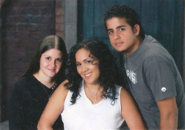 Carmen Collazo, Jeanny Lopez and Freddy Ramos