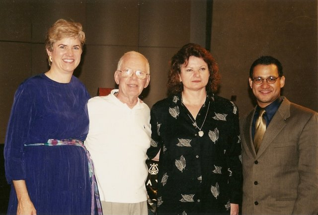 Kathy, Mitchell Lurie, Maria del Carmen Gil and Ricardo Morales.